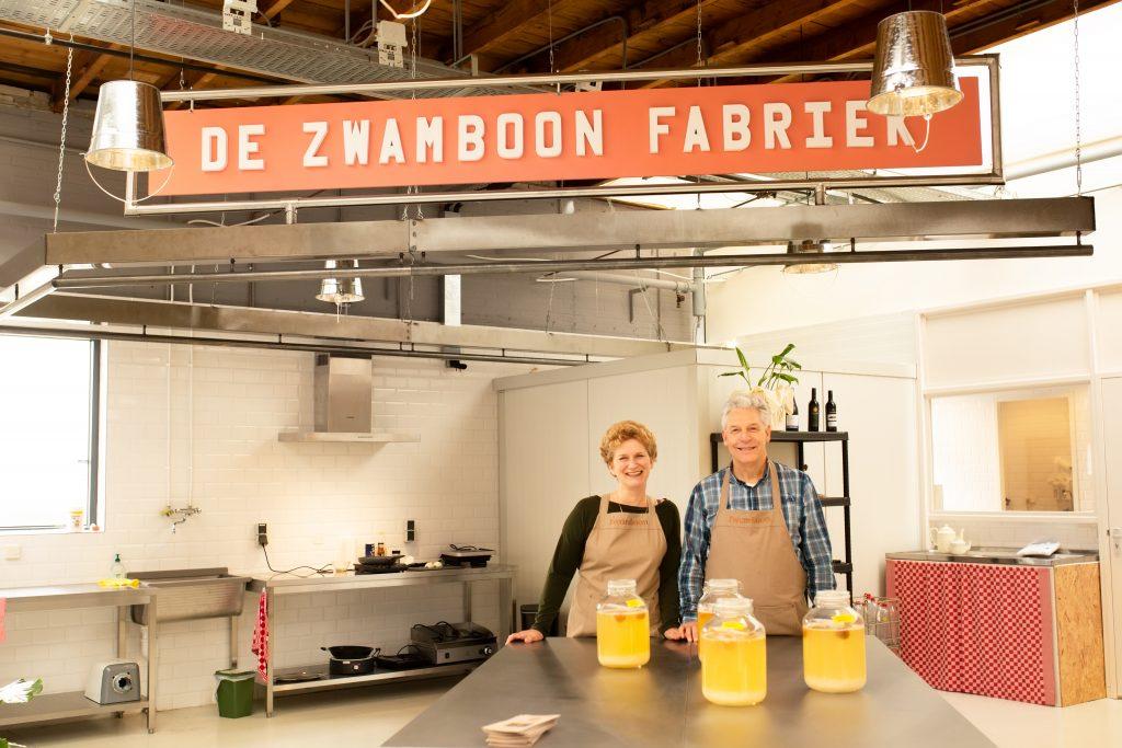 Arja en Bert van de fermenteerfabriek